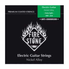 Струны для электрогитары Gewa Fire&Stone Nickel Alloy Coated Extra Light