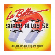 Струны для электрогитары La Bella SA1046 Super Alloy 52 – Regular 10-46