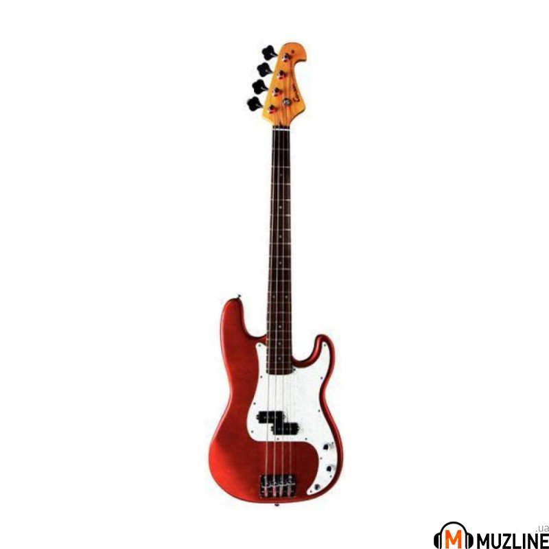 Бас-гитара Gewa Tenson P-BASS Met.Red F504115