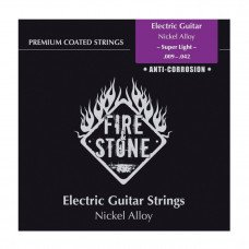 Струны для электрогитары Gewa Fire&Stone Nickel Alloy Coated Super Light