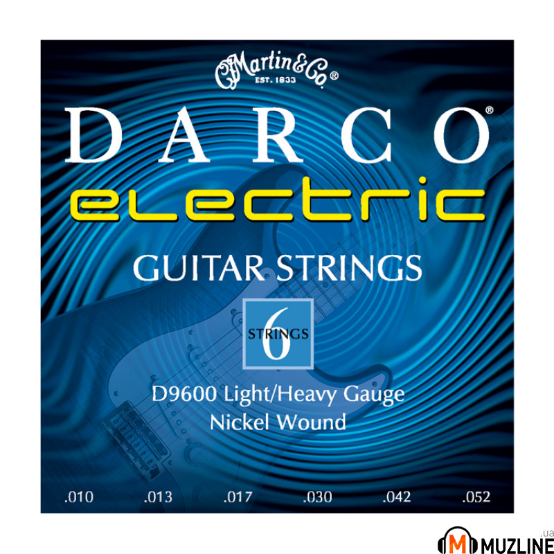 Струны для электрогитары Martin Darco Electric Guitar D9600
