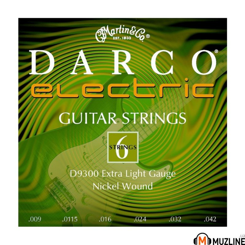 Струны для электрогитары Martin Darco Electric Guitar D9300