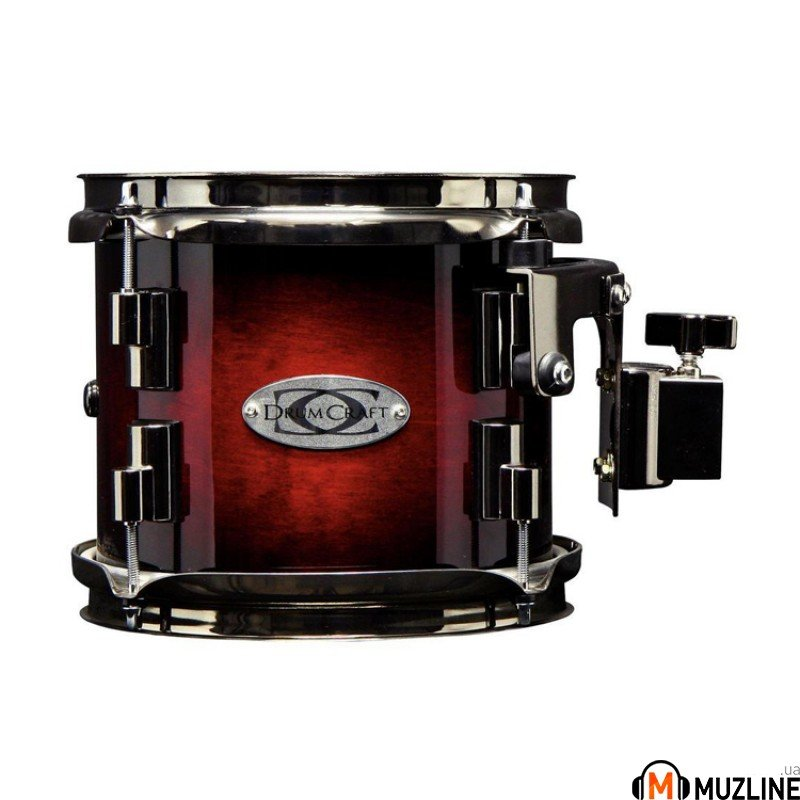 Gewa Drumcraft Series 8 Electric Black Satin Chrome HW