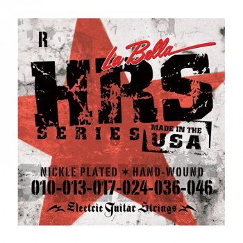 Струны для электрогитары La Bella HRS-R Nickel-Plated Round Wound – Regular 10-46