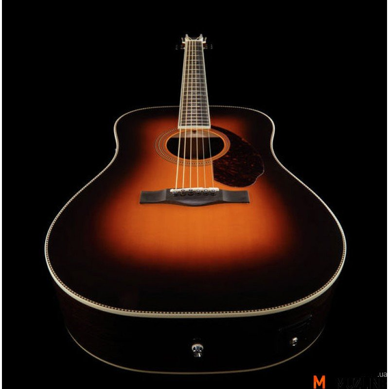 Электроакустическая гитара Fender PM-1 Paramount Deluxe Dreadnought Sunburst