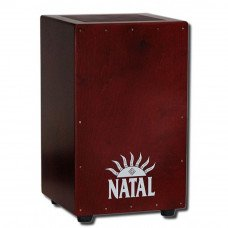 Кахон Natal Drums CJAN-L-SW-BR Cajon Large Black With Dark Red Panel