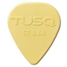 Graph Tech PQP-0068-V6 Tusq Standard Pick 0.68MM Vintage 6 Pack