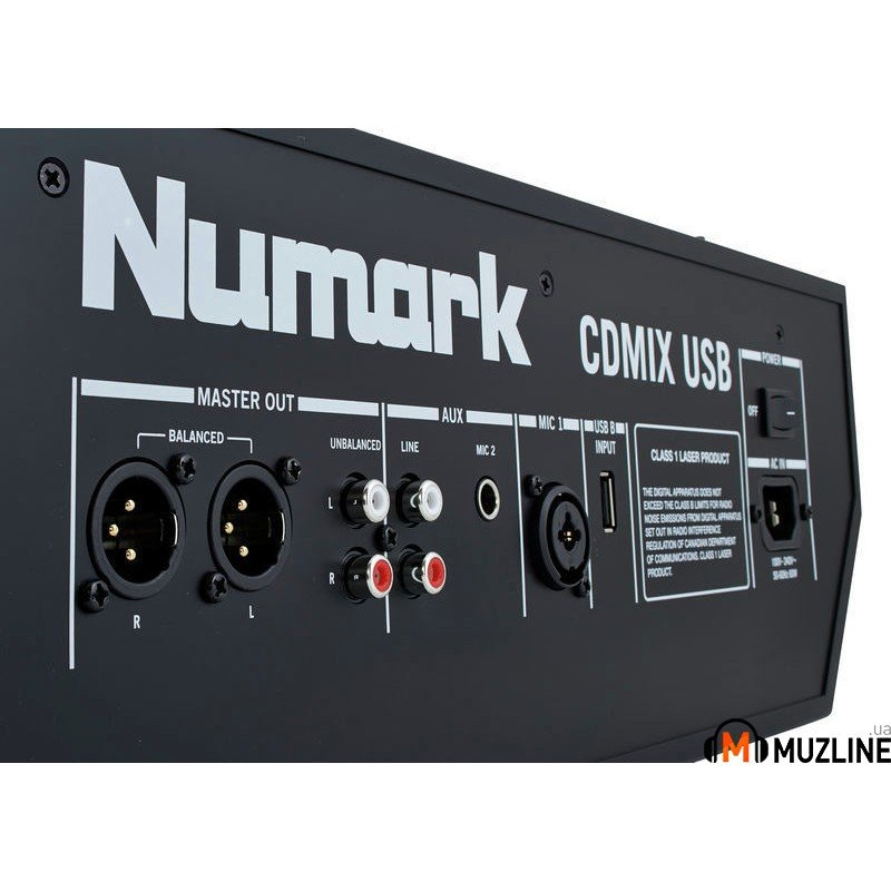 Проигрыватель CD/DVD/MD Numark CDMix USB