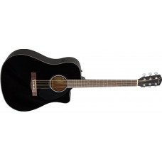 Электроакустическая гитара Fender CD-60SCE Black
