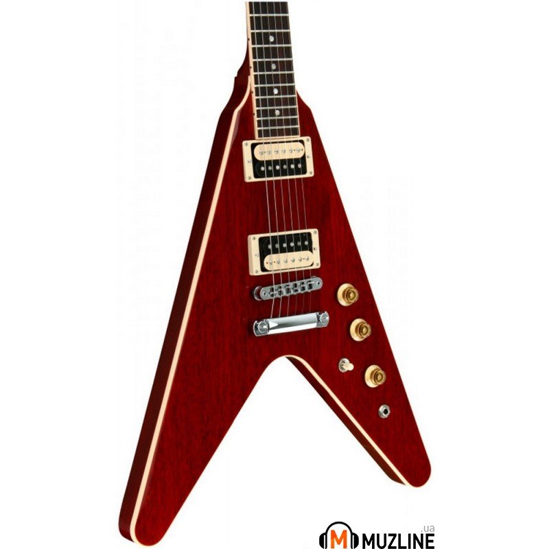 Электрогитара Gibson 2016 T Flying V Pro Wine Red Chrome