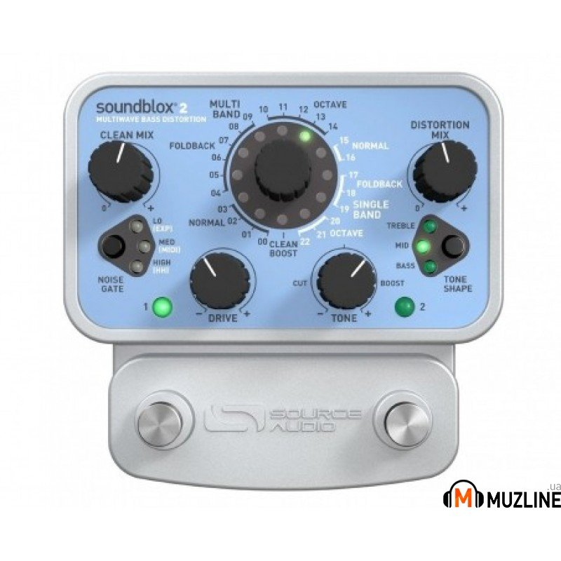 Гитарная педаль Source Audio SA221 Soundblox 2 Multiwave Bass Distortion
