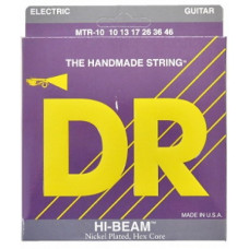 Струны для электрогитары DR MTR-10 HI-Beam (10-46) Medium