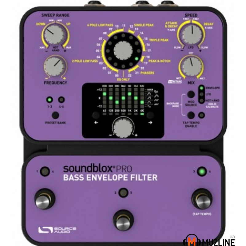 Гитарная педаль Source Audio SA143 Soundblox Pro Bass Envelope Filter