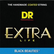 Струны для электрогитары DR BKE-10 Black Beauties (10-46) Medium
