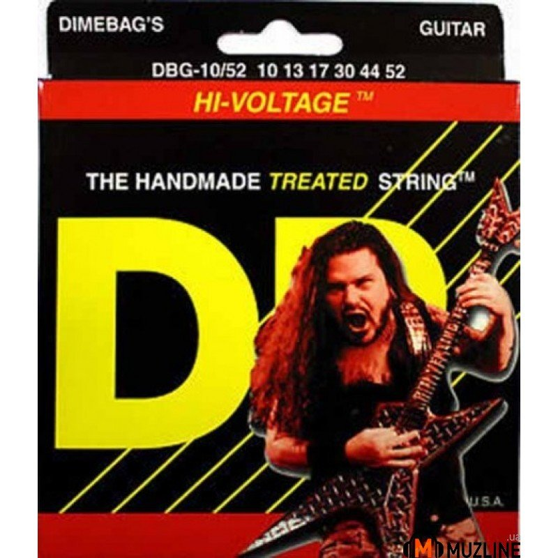 Струны для электрогитары DR DBG-10 Dimebag Darell (10-46) Medium
