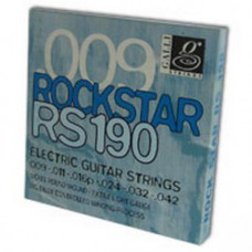 Струны для электрогитары Galli Rock Star RS190 Extra Light
