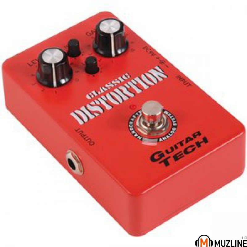 Гитарная педаль Guitar Tech Classic Distortion Pedal GTE-001
