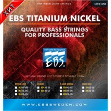 Струны для бас-гитары EBS TN-CM 5-strings (45-128) Titanium Nickel