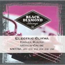 Струны для электрогитары Black Diamond N477M