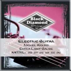 Струны для электрогитары Black Diamond N477XL