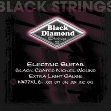 Струны для электрогитары Black Diamond N477XLB