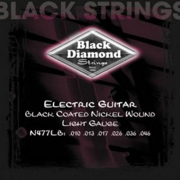 Струны для электрогитары Black Diamond N477LB