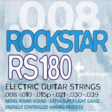 Струны для электрогитары Galli Rock Star RS180 Extra Super Light