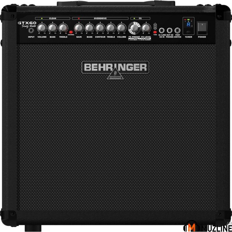 Комбоусилитель для электрогитары Behringer Guitar Amplifier GTX60