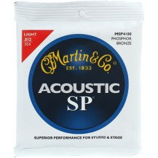Martin MSP4100 SP Acoustic 92/8 Phosphor Bronze Light (12-54)
