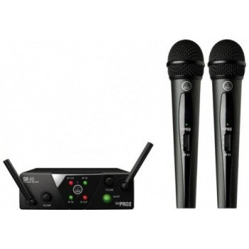 Радиосистема с ручным микрофоном AKG WMS40 Mini 2 Vocal Set