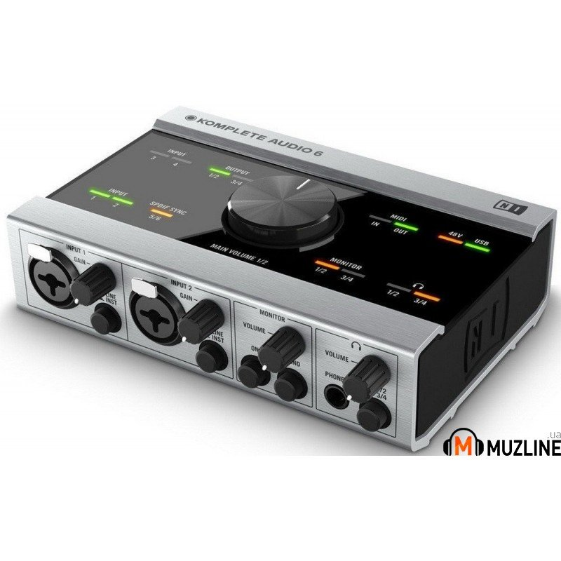 USB звуковая карта Native Instruments Komplete Audio 6