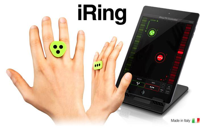 iRing - Motion controller for iPhone, iPad music apps and more