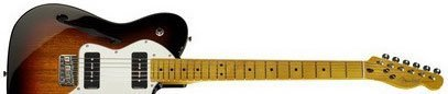 Fender Modern Player Tele Thinline Deluxe MN 3SB