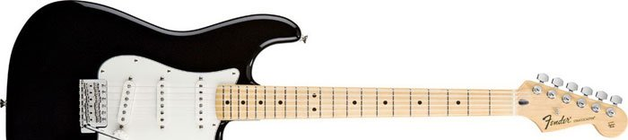 Fender Standard Stratocaster Maple Fingerboard Black